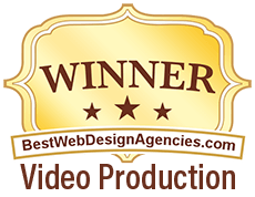 Winner Best Web Design Agencies - Video Production