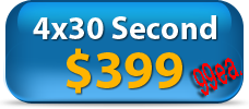 Video Spokesperson-Four 30 Second videos for $399