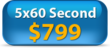 Video Spokesperson-Five 60 Second videos for $799
