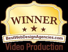 Winner Best Web Design Agencies - Video Production