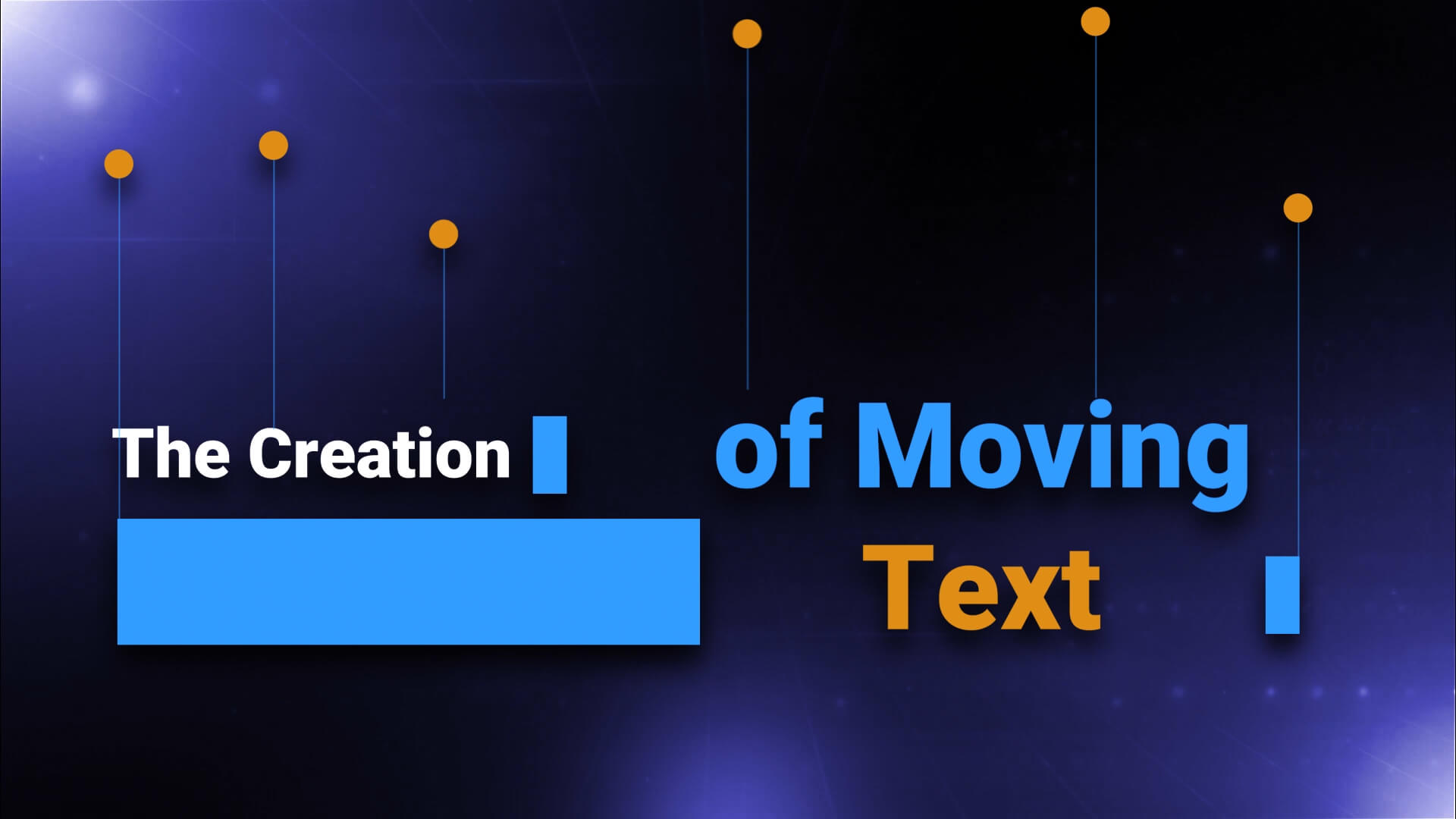 Motion Typography Example