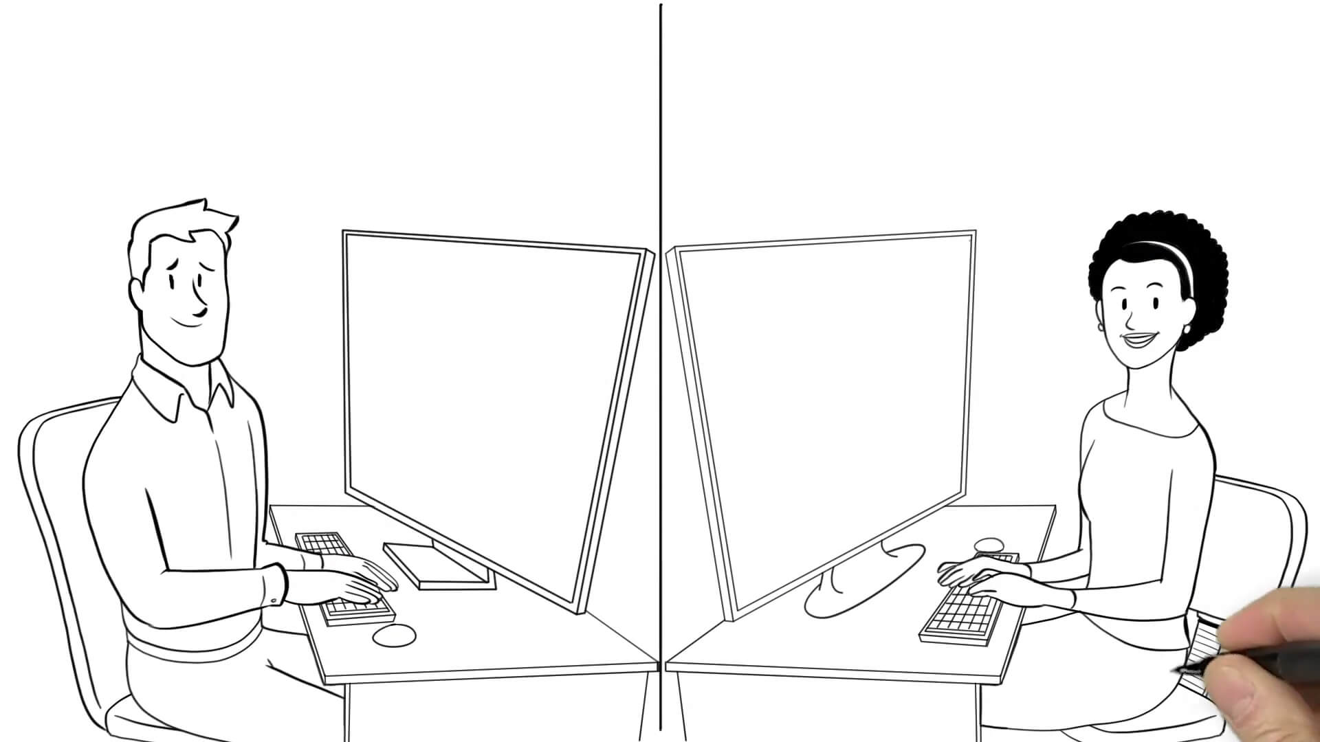 Whiteboard Animation Example