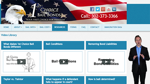 Walkon Spokesperson Example - 1st Choice Bail Bonds