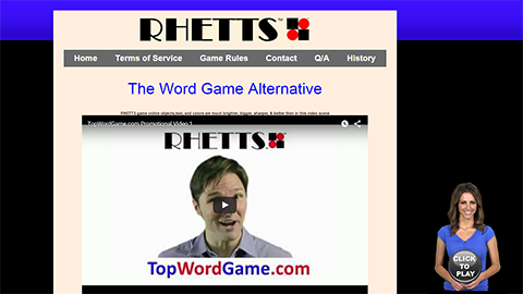Walkon Spokesperson Example - Rhetts Word Game