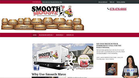 Website Spokesperson Example - We Move Seniors