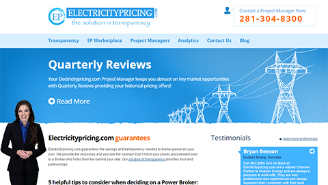 Walkon Spokesperson Example - Electricity Pricing